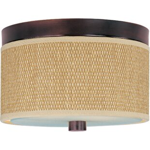 Bayou Breeze Denning 2-Light Flush Mount