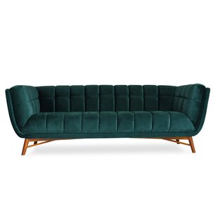 Price comparison Clarisse Mid-Century Modern Chesterfield Sofa by Everly Quinn Reviews (2019) & Buyer's Guide
