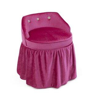 Inexpensive Beebe Upholstered Vanity Kids Stool ByZoomie Kids
