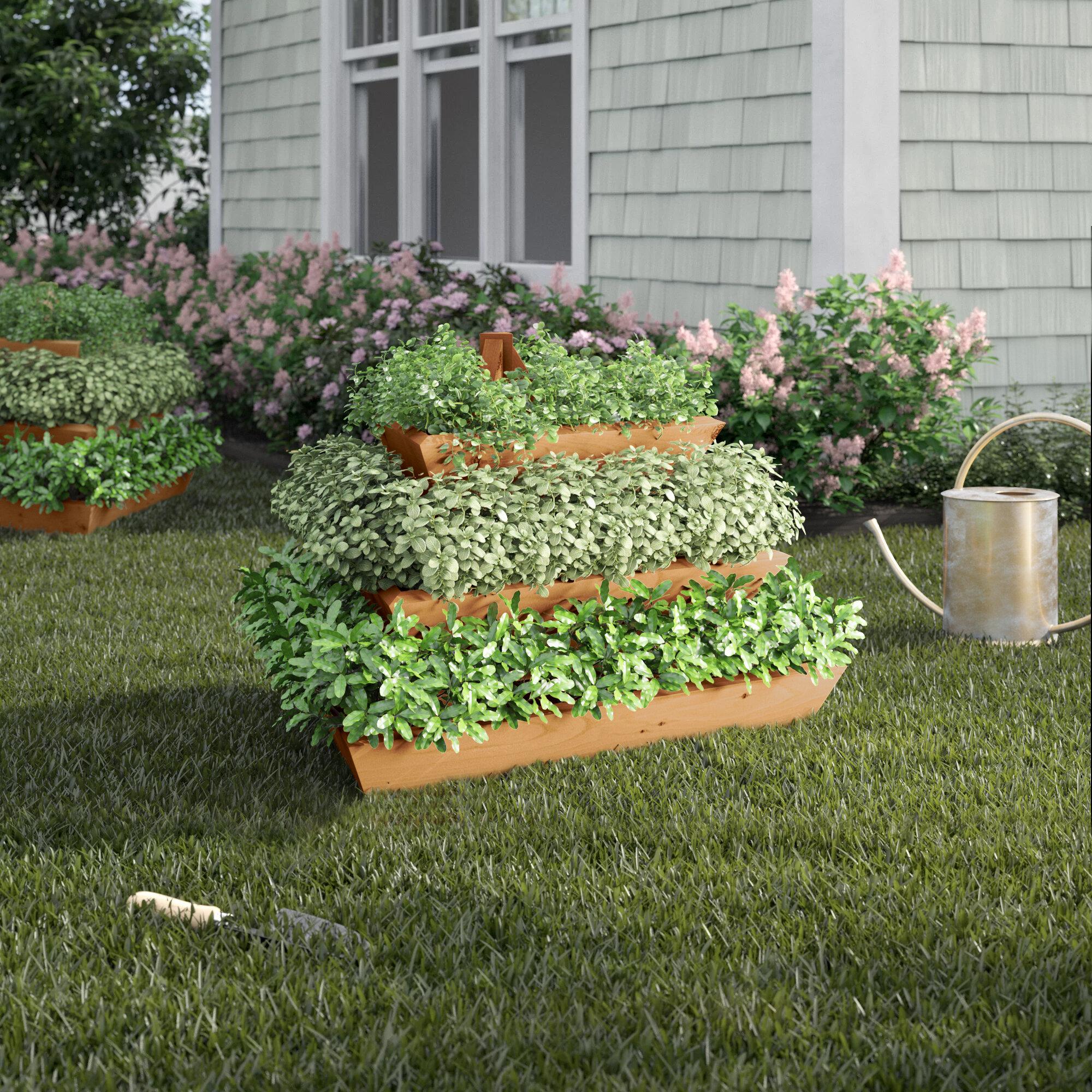 Tremendous Adaline 3 Ft X 3 Ft Western Red Cedar Vertical Garden Short Links Chair Design For Home Short Linksinfo