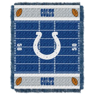 Best Reviews NFL Colts Field Baby Blanket By Northwest Co.