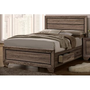 Larabee Storage Platform Bed
