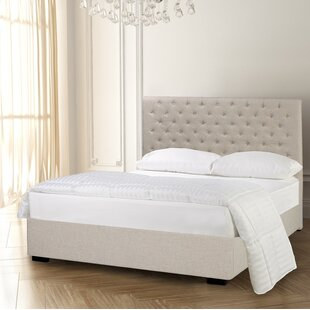 Carlo Diamond Tufted Upholstered Panel Bed