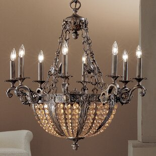 Merlot 12-Light Empire Chandelier by Classic Lighting