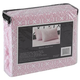 Meili Flower 4 Piece Sheet Set