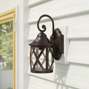 Laurel Foundry Modern Farmhouse Landon 1-Light Outdoor Wall Lantern