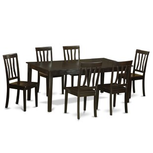Henley 7 Piece Dining Set by Wooden Impor..