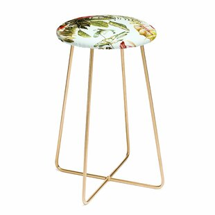 Marta Barragan Camarasa Botanical Jungle Bouquets I 30 Bar Stool East Urban Home