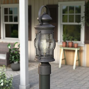 Read Reviews Laxford Outdoor 1-Light Lantern Head By Beachcrest Home