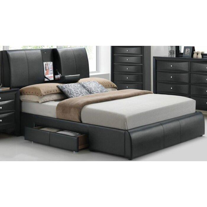 designer fashion 8b525 a8e73 Horsley Storage Platform Bed