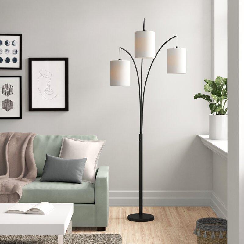 Zipcode Design Aldora 83 5 Tree Floor Lamp Reviews