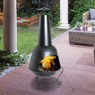 Price Sale Steel Wood Burning/Charcoal Chiminea