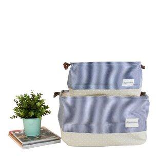 Shop For Drawstring Top Linen Laundry Set with Handles ByLatitude Run