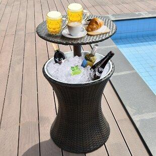 Keyone Rattan Bar Table Image