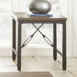 Seeman Craftsman End Table by Gracie Oaks