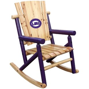 NCAA Collegiate Rocking Chair Leigh Country