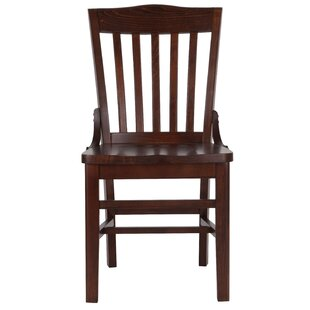 Rotterdam Solid Wood Dining Chair Charlton Home