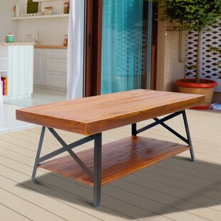 Houser Outdoor Wooden Coffee Table
