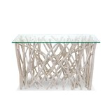 45 Solid Wood Console Table by Ibolili