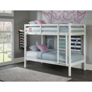 Anatolio Twin over Twin Bunk Bed with Hanging Nightstand