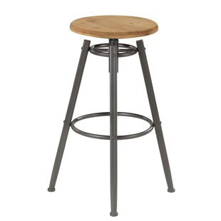 Burger Height Adjustable Bar Stool By Borough Wharf
