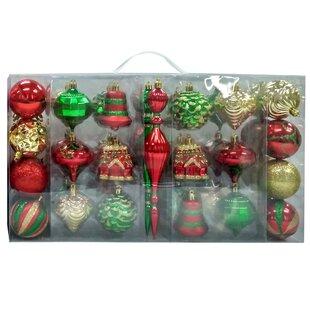 Green Christmas Ornaments You Ll Love In 2021 Wayfair