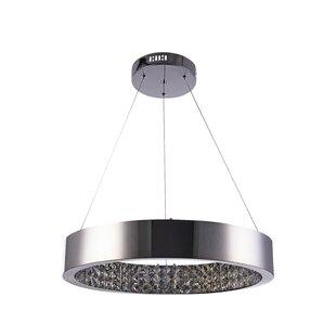 Orren Ellis Stovall LED Crystal Pendant