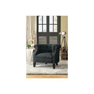 Leedom Barrel Chair by Alcott Hill