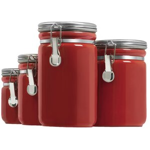 Modern & Contemporary Kitchen Canisters & Jars You\'ll Love | Wayfair
