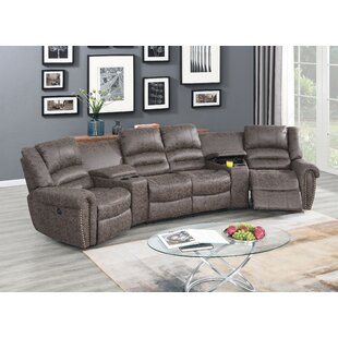Majeic Entertaining Symmetrical Reclining Sectional By Red Barrel Studio