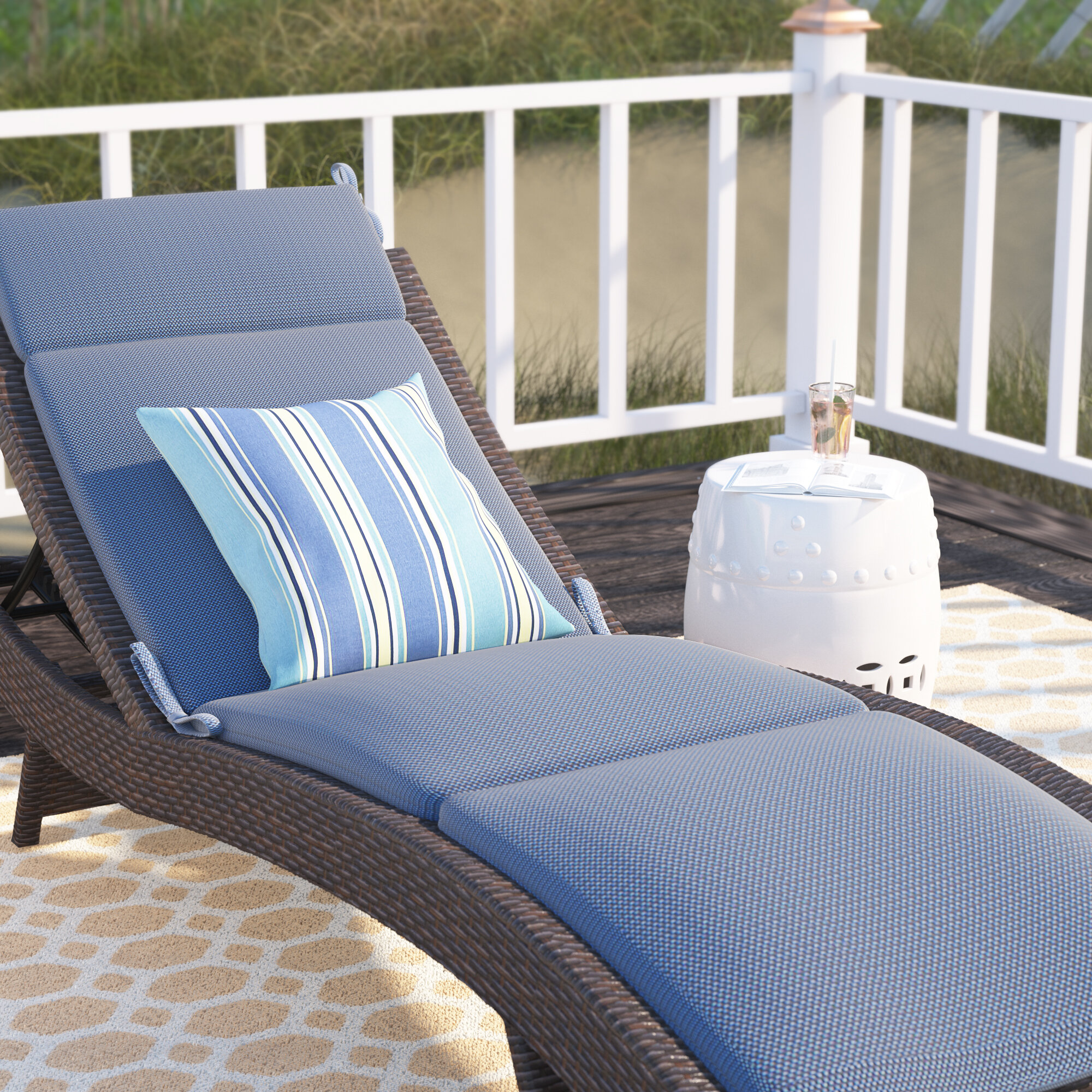 lounge loveseat cushion cushions furniture beautiful new chaise of chair outdoor