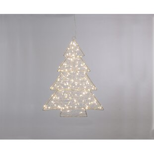 260 Warm White Led Twinkling Dewdrop Tree Lighted Window Décor By The Seasonal Aisle