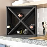 Tallent 12 Bottle Floor Wine Bottle Rack by Ebern Designs