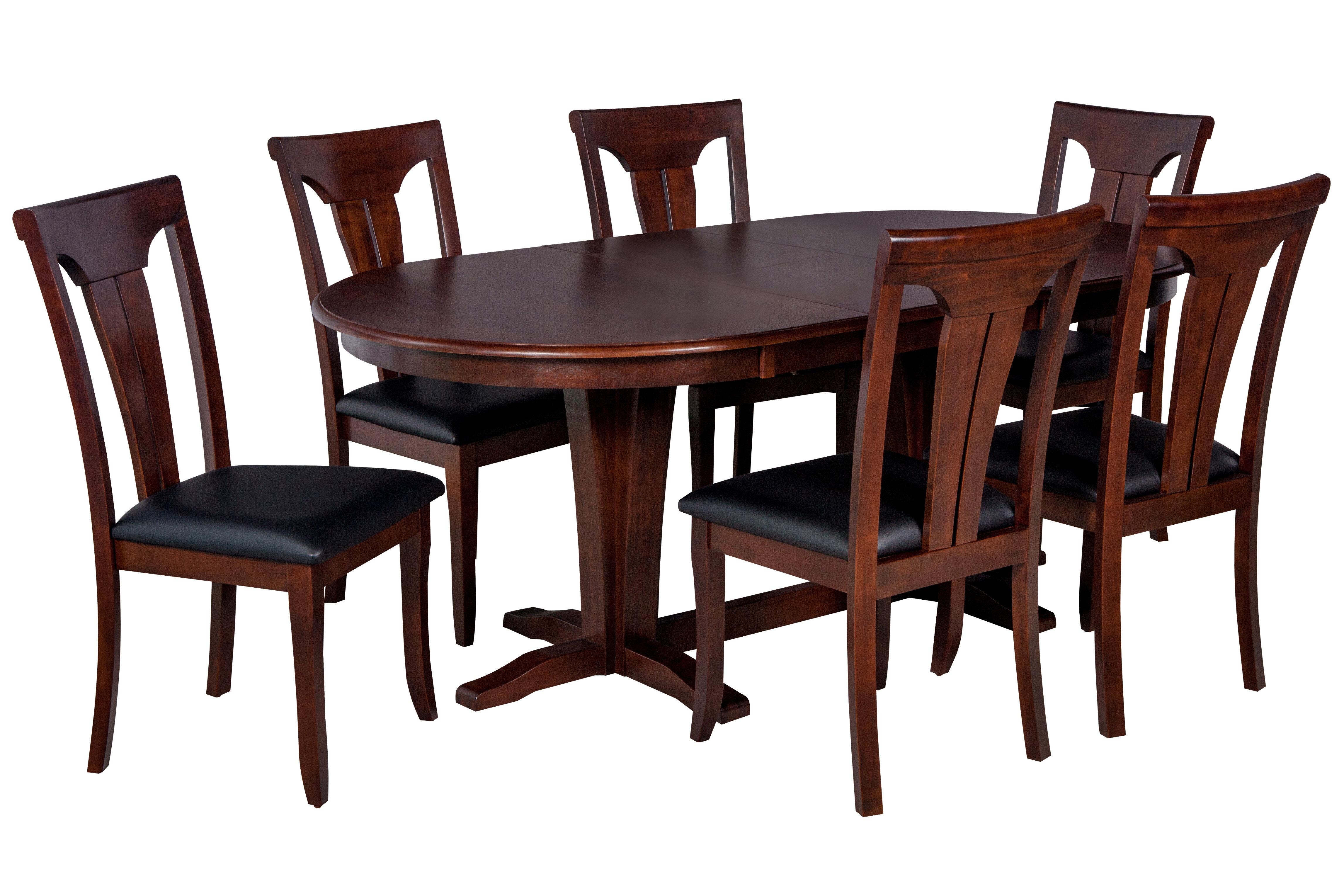 Darby Home Co Bateson 7 Piece Tropical Hardwood Dining Set | Wayfair