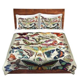 DiaNoche Designs Butterflies Collection Duvet Cover Set