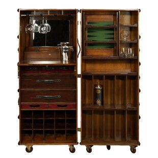Authentic Models Stateroom Bar with Wine Storage