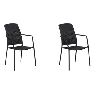 Maxson Stacking Garden Chair (Set Of 2) By Sol 72 Outdoor