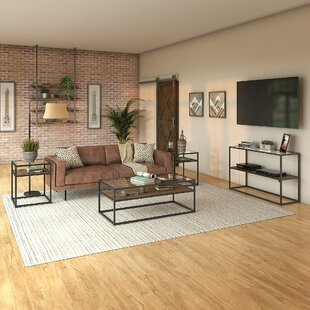 Alcantar 4 Piece Coffee Table Set