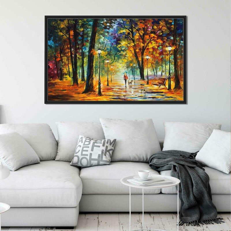 Winston Porter \'Improvisation of Nature\' Framed Oil Painting Print ...