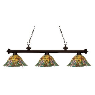 Astoria Grand Lueras 3-Light Pool Table Lights Pendant