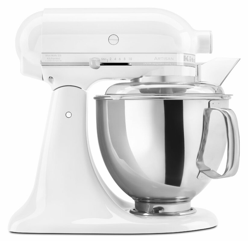 5 Qt. Stand Mixer with Pouring Shield