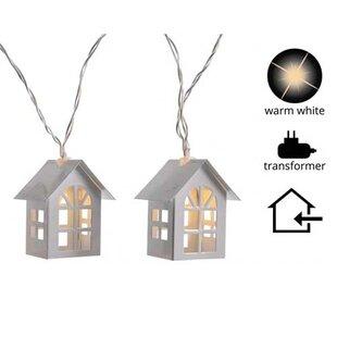 The Holiday Aisle LED Strand House 12 Light String Lights