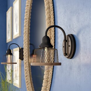 Murillo 1-Light Bath Sconce by Beachcrest Home