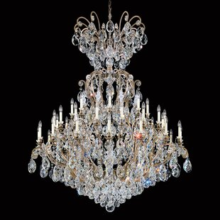 Schonbek Renaissance 41-Light Chandelier