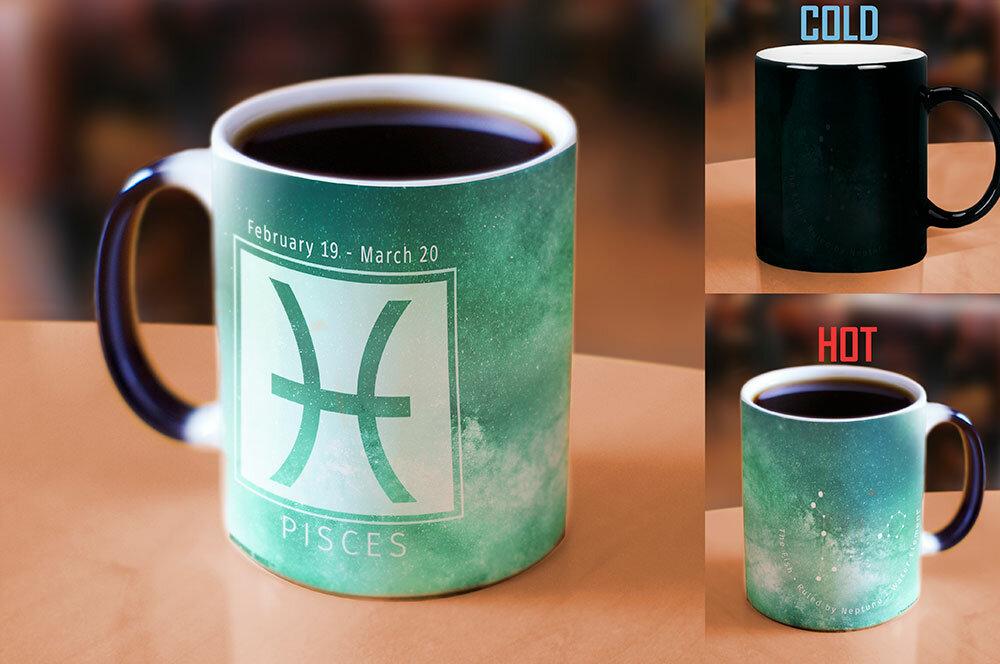 Latitude Run Fredonia Birthday Zodiac Sign Pisces Heat Reveal Ceramic Coffee Mug Wayfair
