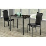 Dasher 3 Piece Dining Set by Winston Porter