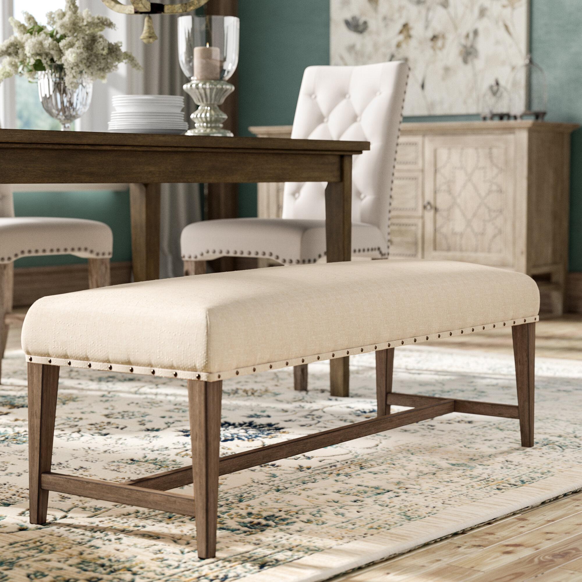 Lark Manor Amity Upholstered Bench Reviews Wayfair