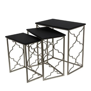 Filippo 3 Piece Nesting Tables by Willa Arlo Interiors