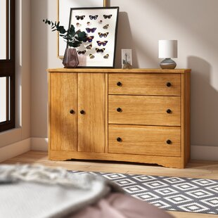 Ryker 3 Drawer Combo Dresser by Andover Mills