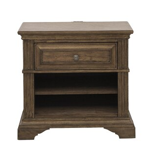Loon Peak Huddleston 1 Drawer Nightstand